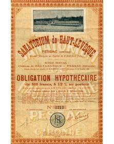 Aquitaine/Gironde 33 Sanatorium de Haut-Leveque