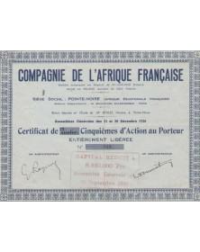 Cie de l'Afrique Française