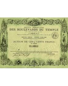 Sté Immobilière des Boulevards du Temple