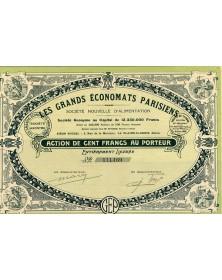 Les Grands Economats Parisiens