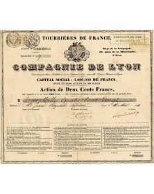 Cie de Lyon -Tourbières de France