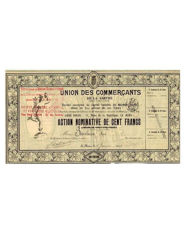 Union des Commerçants de la Sarthe