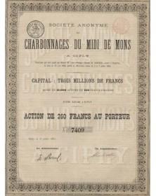 S.A. des Charbonnages du Midi de Mons