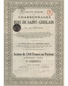 S.A. des Charbonnages du Bois de St-Ghislain