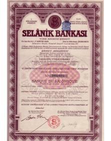 Selânik Bankasi -Banque de Salonique-
