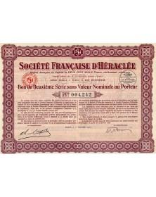 Sté Française d'Héraclée