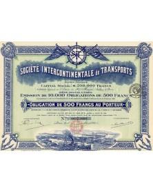 Sté Intercontinentale de Transports