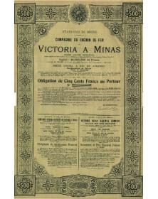 Cie du Chemin de Fer de Victoria à Minas