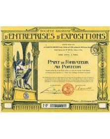 S.A. d'Entreprises d'Expositions