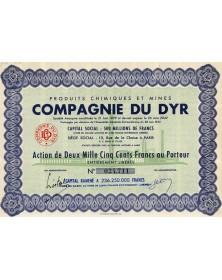 Produits Chimiques et Mines Cie du Dyr