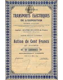 Cie des Transports Electriques de l'Exposition
