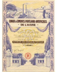 Chaux & Ciments Portland Artificiels de l'Aisne