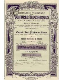 Cie Parisienne des Voitures Electriques (Krieger)