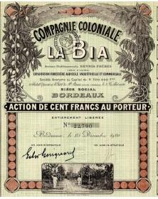 Cie Coloniale de la Bia, Anciens Ets Beynis Frères (Côte d'Ivoire)