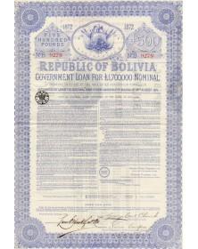 Republic of Bolivia- Gov. Loan