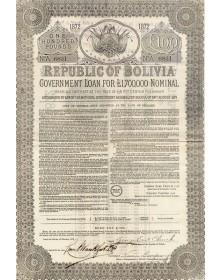 Republic of Bolivia - Government Loan