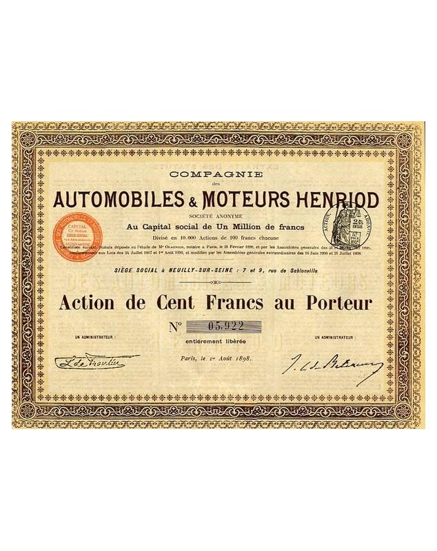 Cie des Automobiles & Moteurs Henriod
