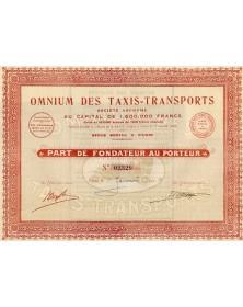 Omnium des Taxis-Transports