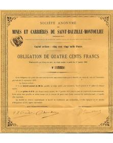 Mines et Carrières de St-Bauzille-Montoulieu