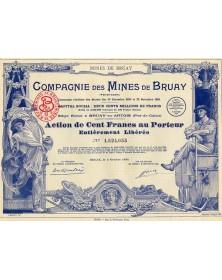Cie des Mines de Bruay (Pas-de-Calais)