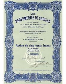 Les Parfumeries de Gabilla