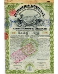 Republica Mexicana - Estado Libre y Soberano de Tamaulipas