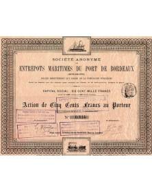 Entrepôts Maritimes du Port de Bordeaux