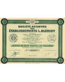 S.A. des Etablissements L. Blériot