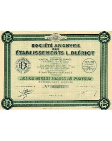 S.A. des Etablissements Louis Blériot