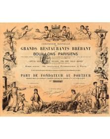 Cie Nouvelle des Grands Restaurants Brébant et Bouillons Parisiens