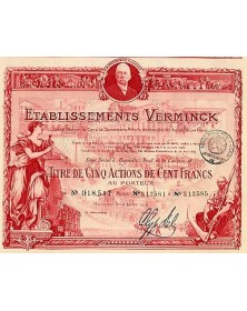 Etablissements Verminck