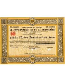 S.A. des Houillères de Montrambert et de la Béraudière
