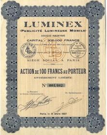 LUMINEX (Publicité Lumineuse Mobile)