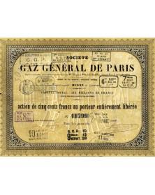 Sté du Gaz Général de Paris