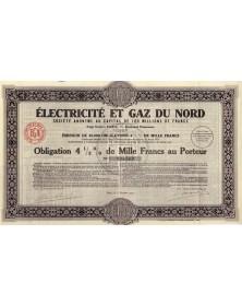 Electricité et Gaz du Nord