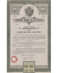 Compañia Minera de Los Azules S.A.