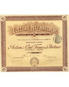 L'Electro-Réfractaire