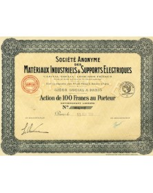 S.A. des Matériaux Industriels & Supports Electriques