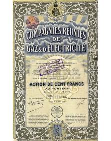 Cies Réunies de Gaz & d'Electricité