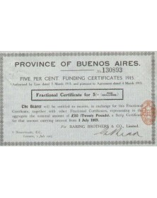 Province of Buenos Aires(Broker:Baring Brothers)