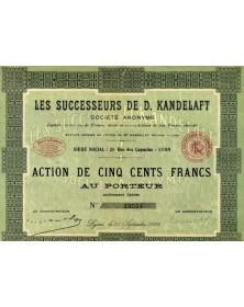 Les Successeurs de D. Kandelaft (Textiles)