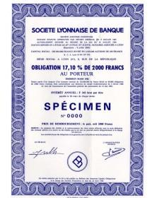 Sté Lyonnaise de Banque