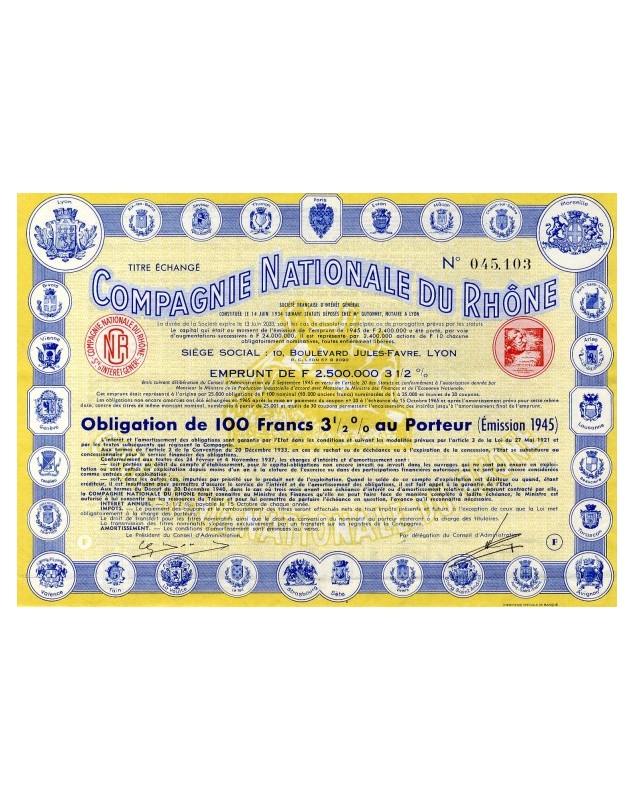 Cie Nationale du Rhône