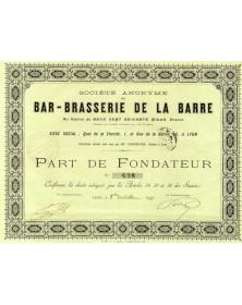 S.A. du Bar-Brasserie de La Barre