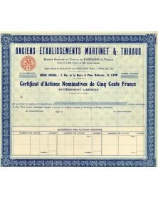 Anciens Ets Martinet & Thibaud (Quincaillerie)