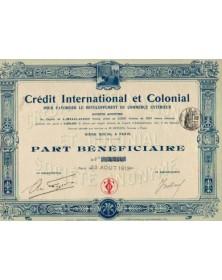 Crédit International et Colonial