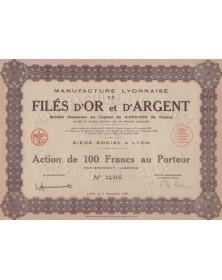 Manufacture Lyonnaise de Filés d'Or & d'Argent
