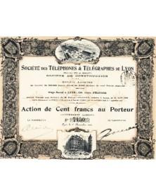 Sté des Téléphones & Télégraphes de Lyon