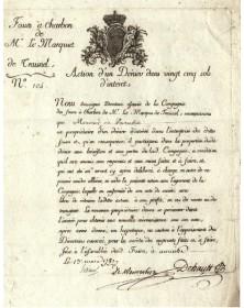 Fosse à Charbon de Mr. Le Marquis de Troisnel
