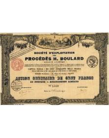 Sté d'Exploitation des Procédés H. Boulard